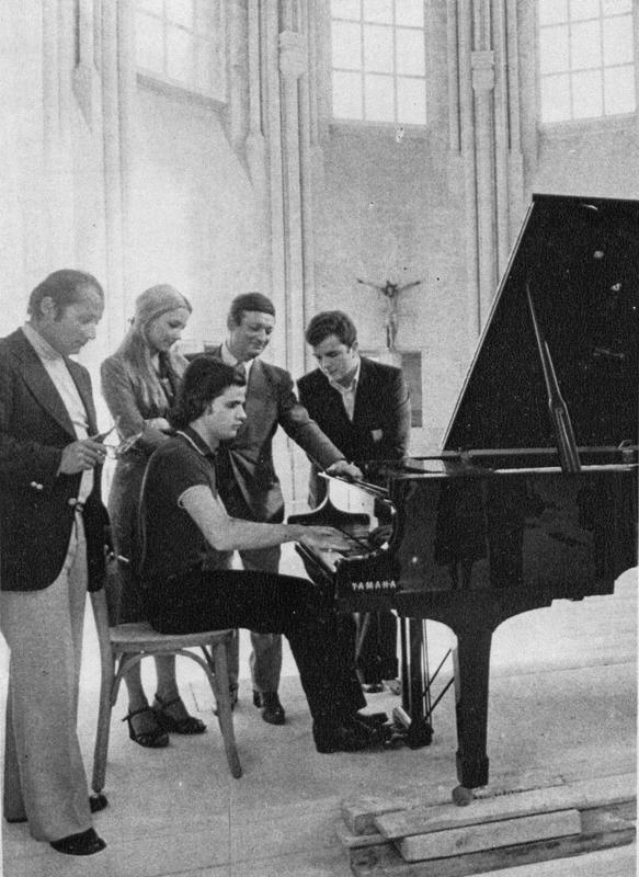 Inauguration Fondation Georges Cziffra 1977